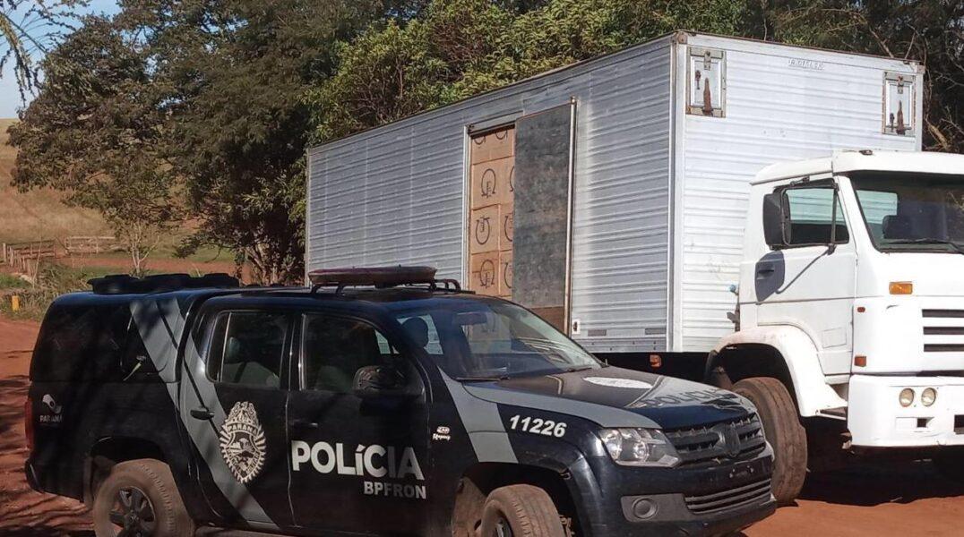 PM apreende mais de R$ 1,6 milhão em contrabando no Oeste do Paraná
