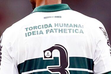 Athletico-PR processa Coritiba por camisa com a frase: 'Ideia pathetica'