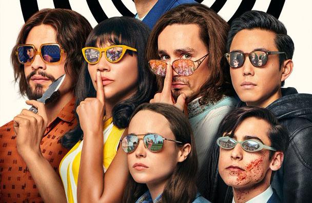 Umbrella Academy – Família aparece em pôster fashionista da 2ª temporada