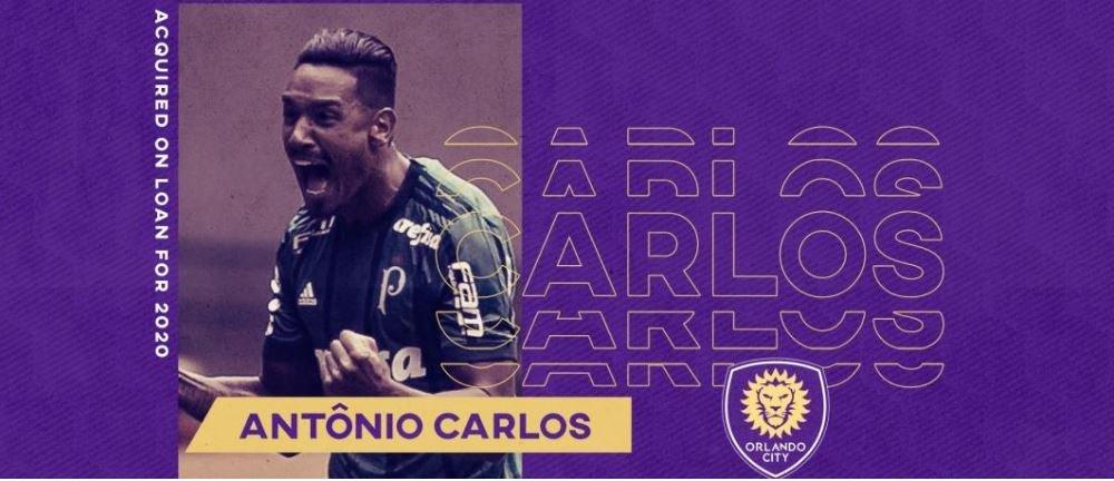 Orlando City anuncia chegada por empréstimo de Antônio Carlos