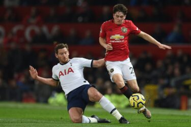 Confira fotos de Manchester United x Tottenham pelo Campeonato Inglês