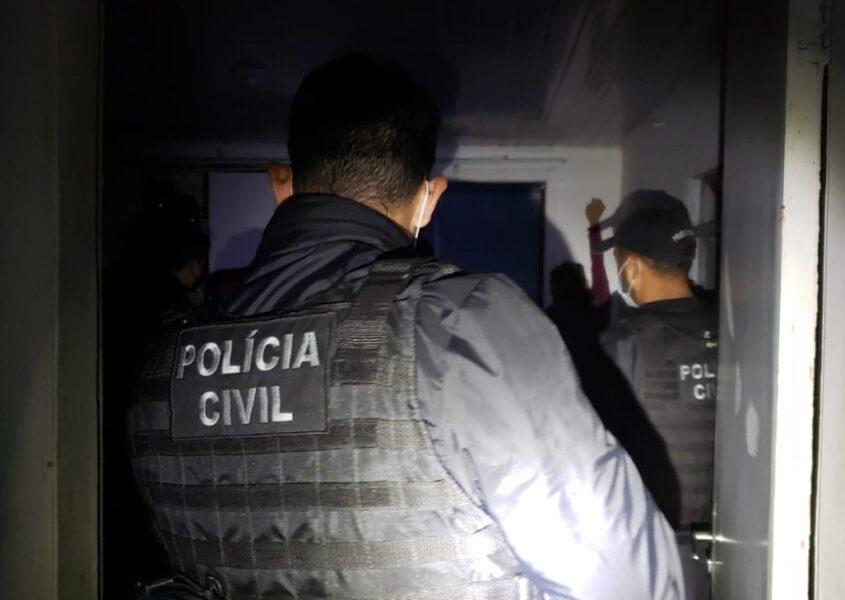 Policia civil realiza operação para prender bando que aplicava golpes durante venda de utensílios domésticos