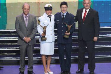 Arthur Nory e Beatriz Ferreira vencem o Prêmio Brasil Olímpico