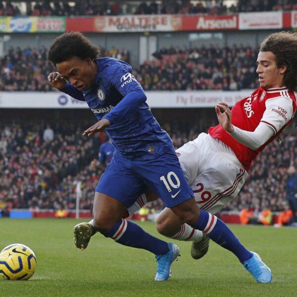 Veja fotos do clássico entre Arsenal e Chelsea