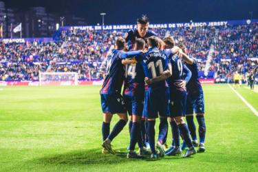 Levante vence o Mallorca em casa pelo Campeonato Espanhol