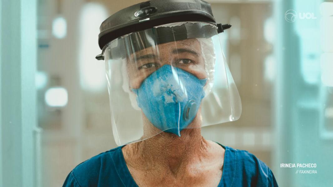 Plataforma lança filme que retrata o olhar de profissionais que estão na linha de frente do combate à pandemia
