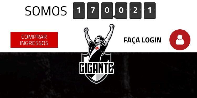 Vasco alcança 170 mil sócios-torcedores com campanha promocional