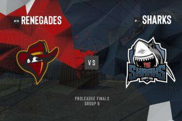 Sharks é eliminada da ESL Pro League S10 de CS:GO