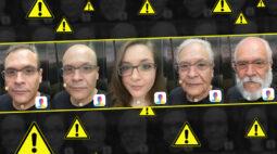 É tão divertido brincar com o Face App, só que não.