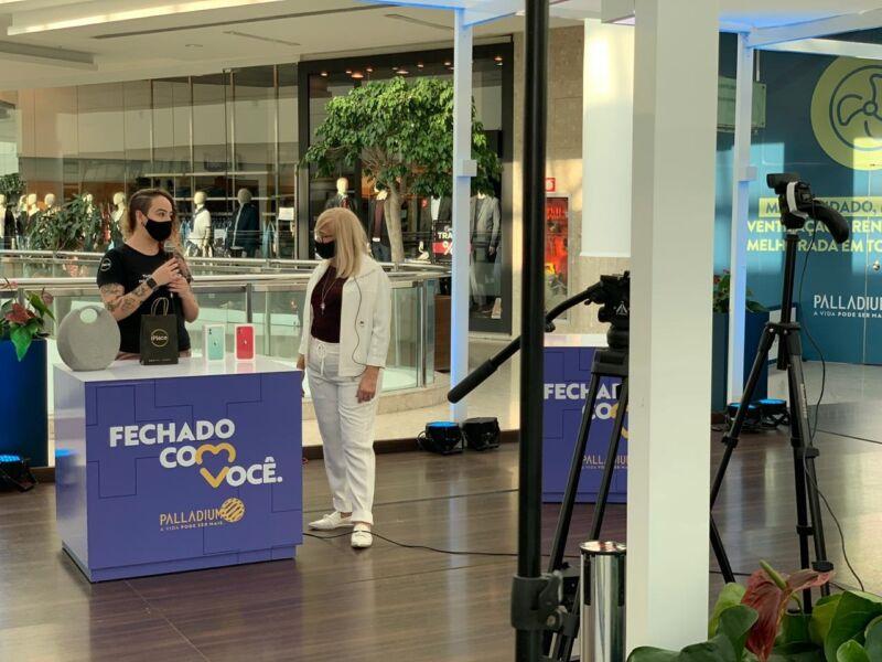 Fechado com você: Shopping de Curitiba cria estratégia de vendas online durante fim de semana