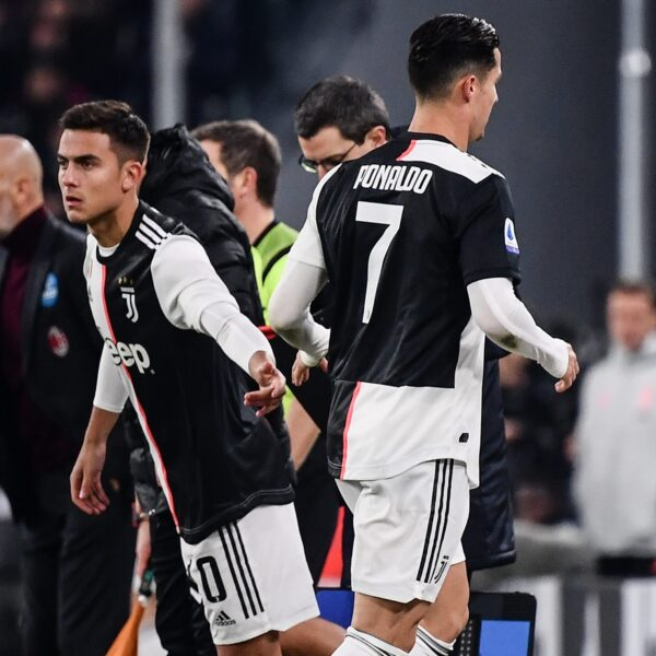 Após revolta com substituição, Juventus decide o que fazer com Cristiano Ronaldo
