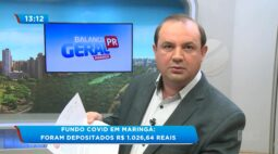 Fundo covid em Maringá: Foram depositados R$ 1.026,64 reais