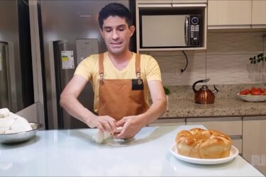 Receita: aprenda a fazer rosca de fondant com doce de leite