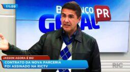 Jasson Goulart agora é BG! Contrato da nova parceria foi assinado na RIC Record TV