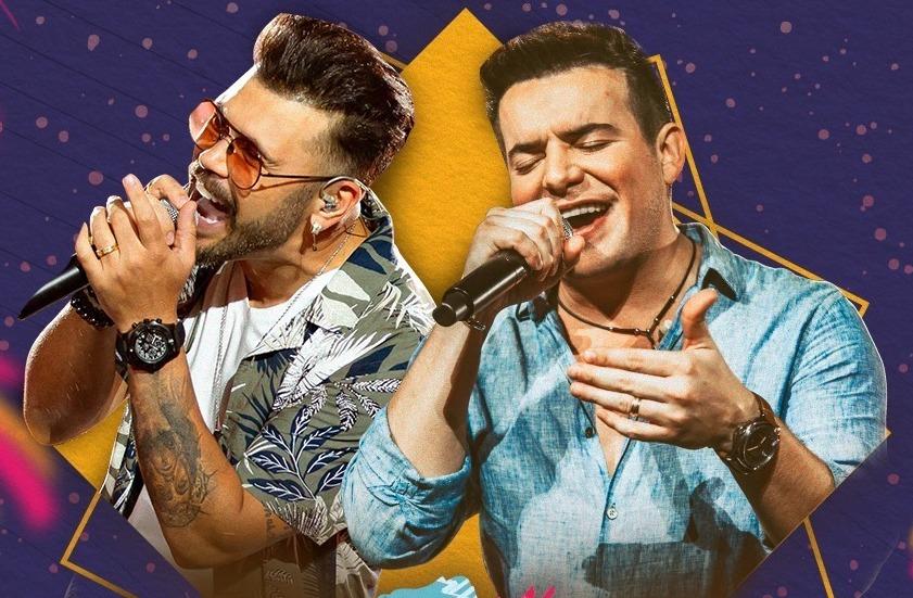 Marcos e Belutti fazem live com tema de festa junina; assista ao vivo