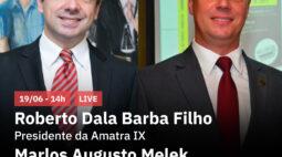 RIC Mais recebe Roberto Dala e Marlos Augusto Melek, em live exclusiva