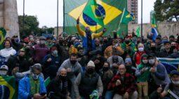 Ato convocado por Wanderlei Silva pede respeito à bandeira nacional em Curitiba