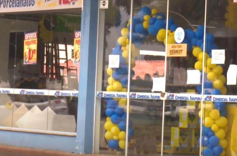 Loja de materiais de construção no interior do Paraná é fechada após registrar mais de 10% dos casos de coronavírus da cidade