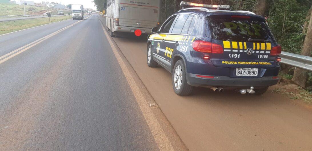 Motorista de ônibus é autuado no Paraná por dirigir alcoolizado e realizar ultrapassagem proibida
