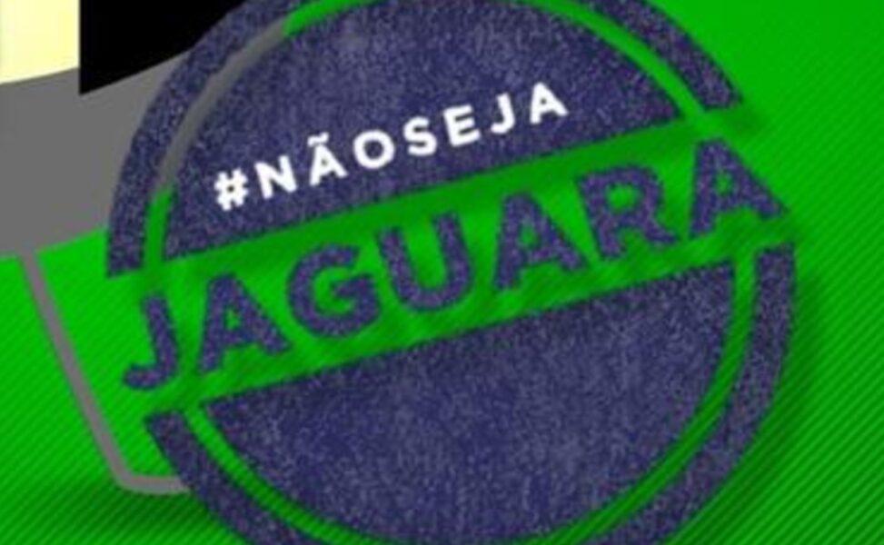 """""""Não seja jaguara"""", diz campanha de conscientização de empresas de ônibus de Curitiba"""