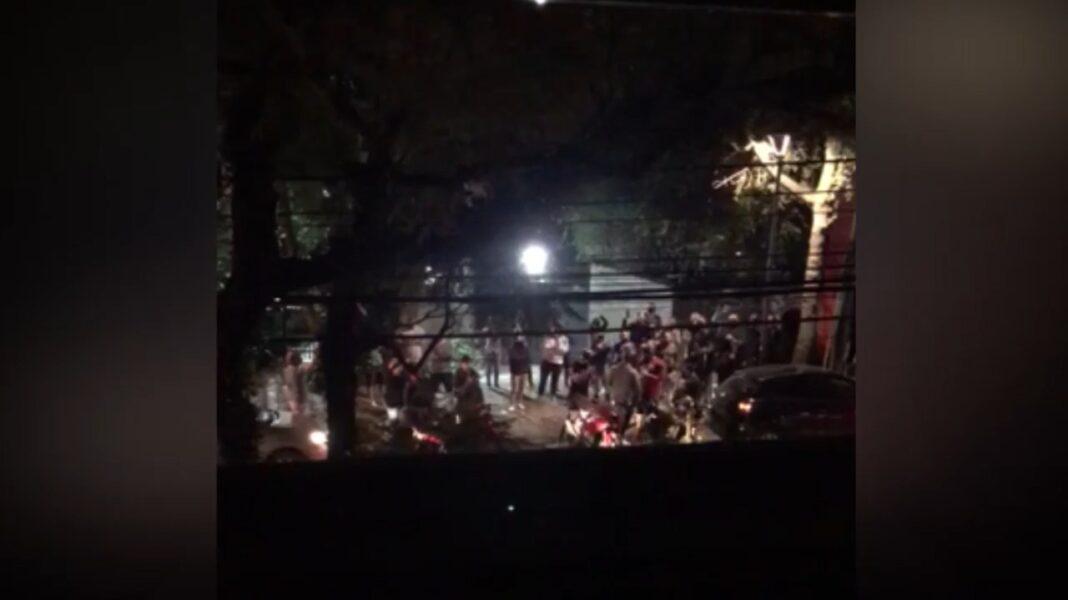 Contra fechar academias, grupo protesta para chamar atenção do prefeito Rafael Greca