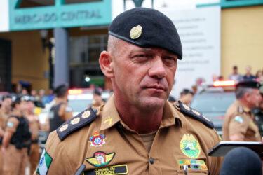 Coronel Hudson, comandante da PMPR, é internado com Covid