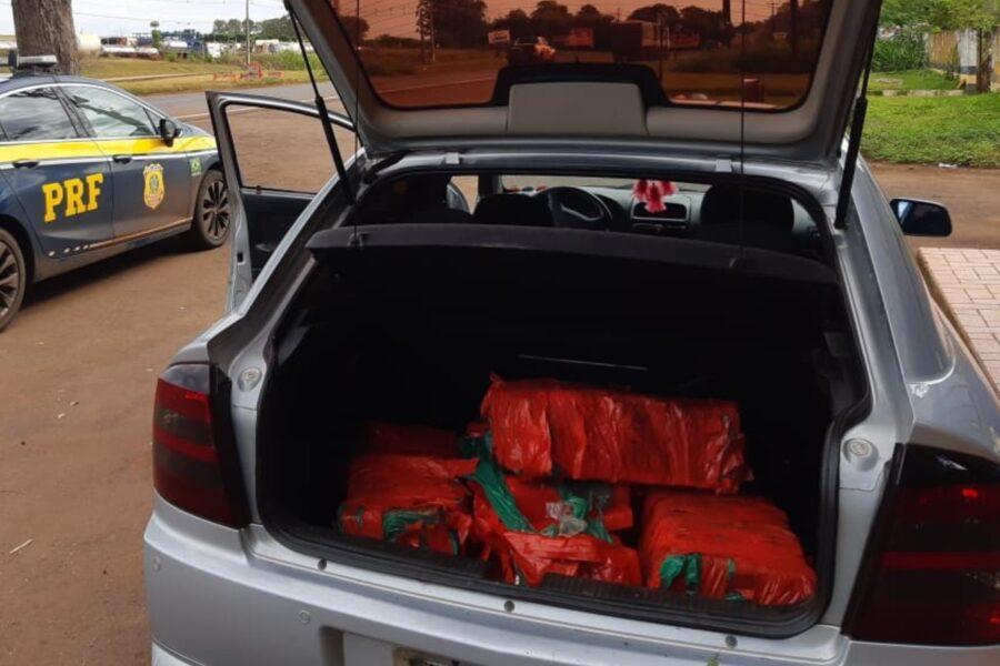 Traficante é preso levando droga no carro da própria mãe no Paraná