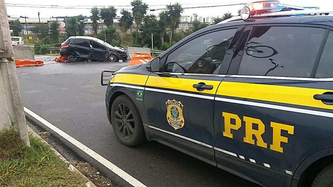 Jovem morre em acidente nas proximidades do Trevo do Atuba, em Curitiba