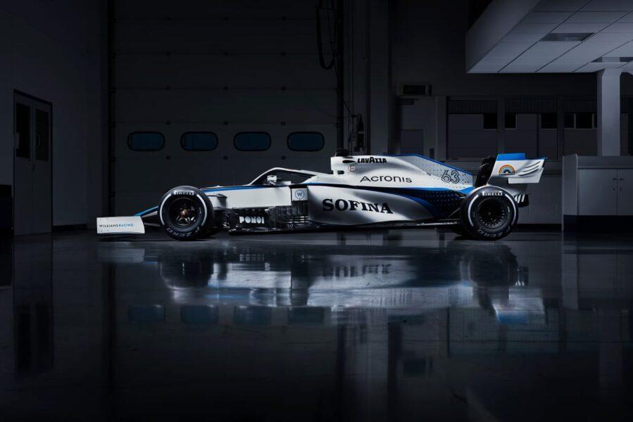 Williams F1 apresenta nova pintura para a temporada 2020