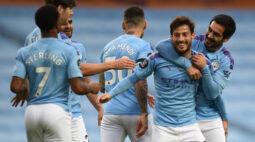 Em busca do vice campeonato Manchester City atropela o Newcastle