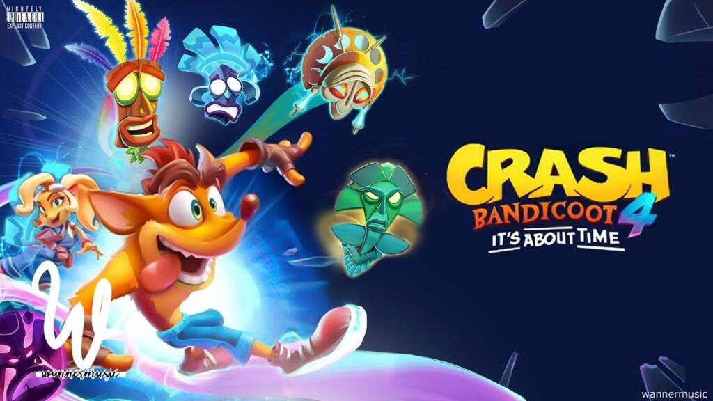 Crash Bandicoot 4: It's About Time recebe gameplays, confira!