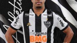 Keno faz primeiro treino e será apresentado pelo Atlético-MG nesta sexta