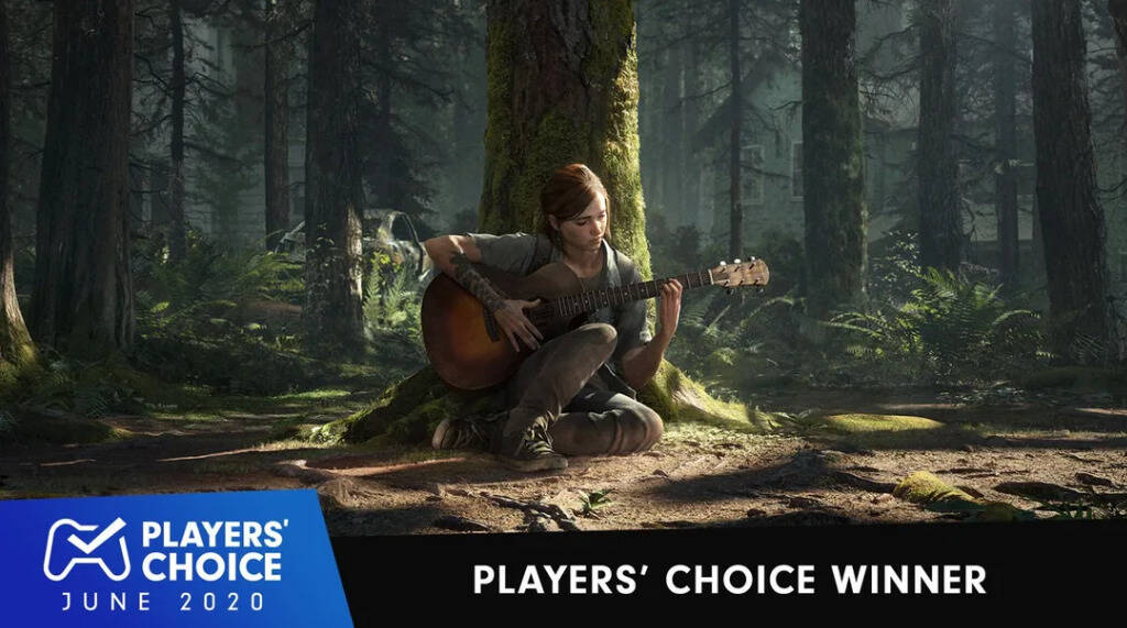 The Last of Us Part II venceu na categoria de melhor novo jogo do mês