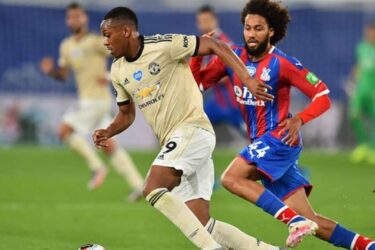 Manchester United vence o Crystal Palace e segue na briga por vaga na Liga dos Campeões