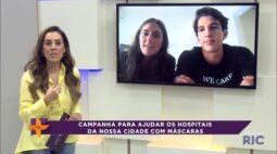 Projeto ajuda os hospitais de Londrina com doação de máscaras