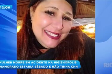 Mulher morre em acidente na Higienópolis: namorado estaria bêbado e não tinha CNH