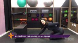 Exercícios para dores na coluna