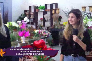 Dicas de presentes para amantes de flores