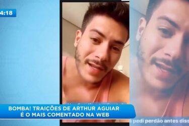 Traições de Arthur Aguiar é o mais comentado na web