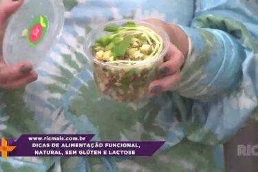 Dicas de alimentação funcional, natural, sem glúten e lactose