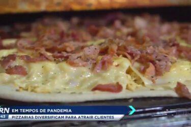 Em tempos de pandemia pizzarias diversificam para atrair clientes