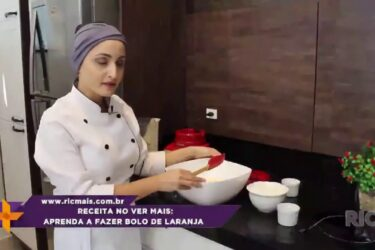 Aprenda a fazer bolo de laranja