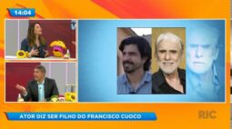 Ator diz ser filho do Francisco Cuoco