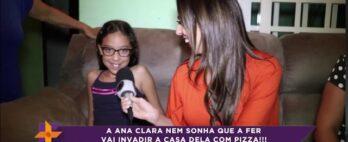 Invasão da pizza: relembre a visita na casa da Ana Clara