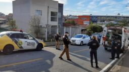 Ação conjunta da Guarda Municipal e PM salva homem em surto em Araucária