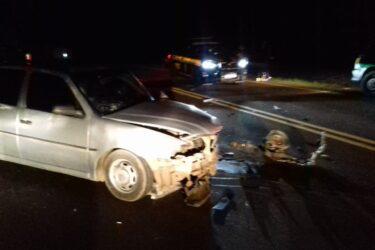 Motorista embriagado causa acidente entre quatro veículos, em Guarapuava