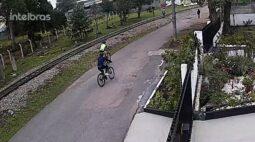 Criminosos roubam bicicletas de ciclistas em Curitiba; veja imagens