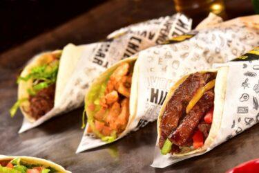 Tacontainer tem 4 versões do clássico burrito mexicano