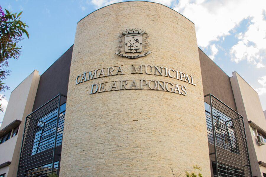 Câmara de Arapongas fecha temporariamente por suspeita de Covid-19