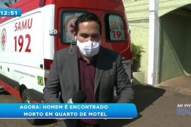 Homem é encontrado morto em quarto de motel